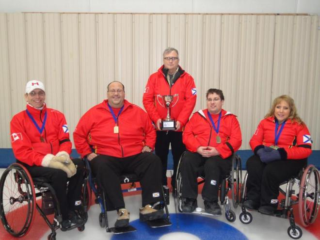 Wheelchaircurling 2018 champs