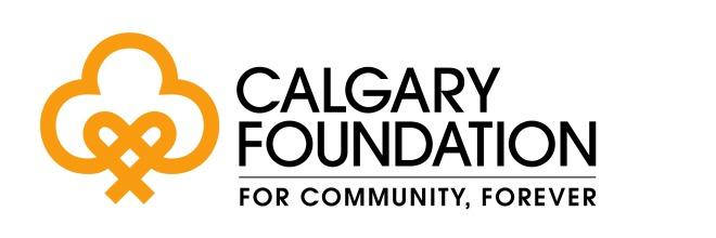calgary foundation logo - LARGER tagline CMYK